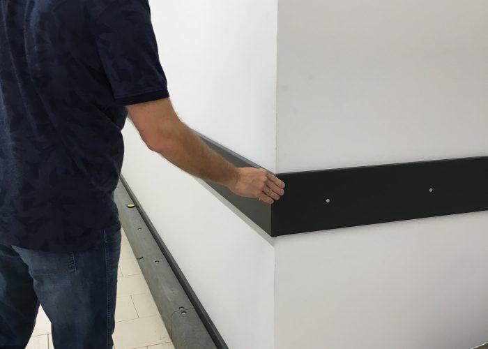Montage Wandschutzsysteme